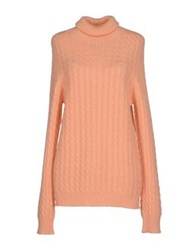 Ballantyne Turtlenecks Apricot