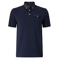 John Lewis Going Out Polo Shirt Navy
