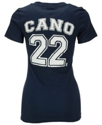 5Th And Ocean Women's Robinson Cano Seattle Mariners Player T Shirt Navy