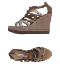 Janet Sport Sandals Light Brown