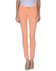Gold Case Denim Pants Salmon Pink