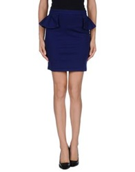 Cycle Mini Skirts Dark Blue