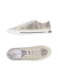 Armani Jeans Footwear Low Tops And Trainers Women Beige