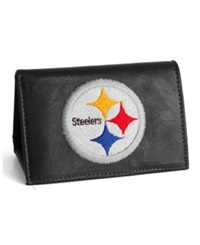 Rico Industries Pittsburgh Steelers Trifold Wallet Black