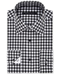 Sean John Men's Classic Fit Eclipse Checked Dress Shirt