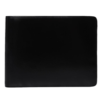 Il Bussetto Bi Fold Wallet Black