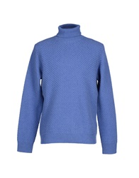 Kangra Cashmere Turtlenecks Pastel Blue