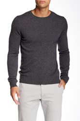 J. Lindeberg Crew Neck Kashmerino Sweater Gray