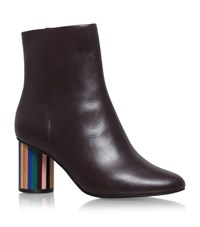 Kurt Geiger London Noble Ankle Boots Female Wine