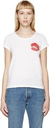 Marc Jacobs White Mini Lips T Shirt