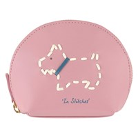 Radley In Stitches Leather Small Coin Purse Pink