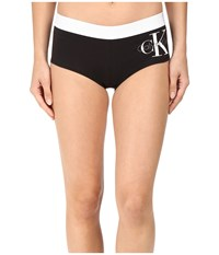 Calvin Klein Underwear Retro Boyshorts Black Women's