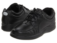 Hush Puppies Power Walker Black Leather Women's Walking Shoes