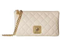 Love Moschino I Love Superquilted Evening Crossbody Bag White Cross Body Handbags