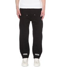 Hood By Air Oversized Fit Straight Jeans Black