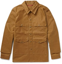 Filson Cruiser Cotton Canvas Field Jacket Brown