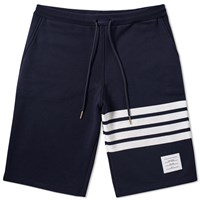 Thom Browne Engineered Stripe Sweat Short Blue