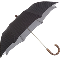 Barneys New York Pin Dot Compact Umbrella