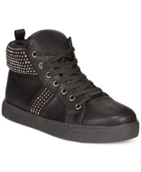 Wanted Tylar High Top Sneakers Women's Shoes Black