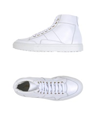 Alberto Moretti High Tops And Trainers White