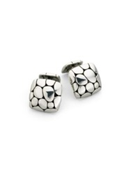 John Hardy Kali Square Cuff Links No Color