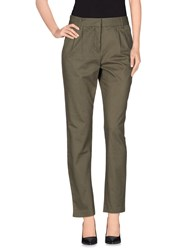 Eleven Paris Trousers Casual Trousers Women Military Green