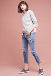 Anthropologie Citizens Of Humanity Emerson High Rise Slim Boyfriend Jeans Denim Light