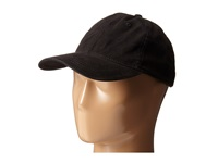 San Diego Hat Company Cth4153 Washed Ball Cap With Adjustable Leather Back Black Caps
