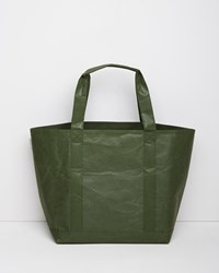 Siwa Medium Tote Bag Dark Green