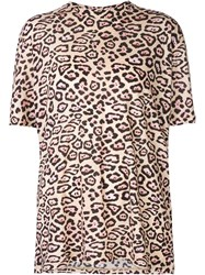 Givenchy Leopard Print T Shirt Nude And Neutrals