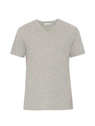 James Perse V Neck Jersey T Shirt