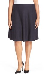 Plus Size Women's Nic Zoe 'Twirl Flirt' Paneled Skirt