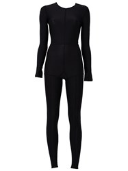 Ann Demeulemeester Fitted Jumpsuit Black