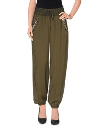 Just For You Casual Pants Military Green