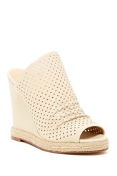 Joe's Jeans Karlton Slip On Wedge Beige