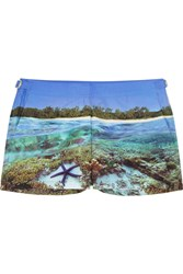 Orlebar Brown Whippet Printed Woven Boardshorts Blue