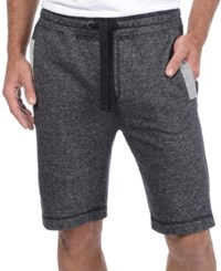 2Xist 2 X Ist Men's Loungewear Terry Shorts Black Heather