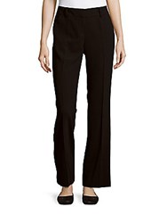 Laundry By Shelli Segal Bootcut Ankle Length Pants Black