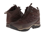 The North Face Storm Winter Wp Demitasse Brown Ganache Brown Men's Boots