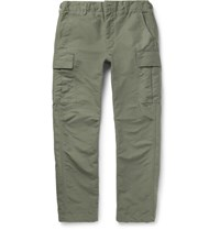 Engineered Garments Cotton Cargo Trousers Sage Green