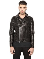 Giorgio Brato Water Repellent Nappa Leather Jacket