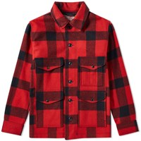 Filson Alaska Fit Mackinaw Cruiser Jacket Red