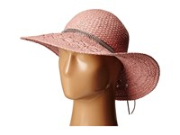Bcbgeneration Feather Chain Floppy Hat Whisper Pink Caps