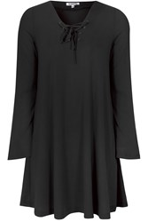Alice And You Lace Up Swing Dress Black