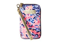 Lilly Pulitzer Tiki Palm Phone Multi Coco Coral Crab Cell Phone Case Pink