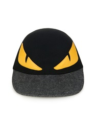 Fendi Monster Eyes Wool Felt Cap
