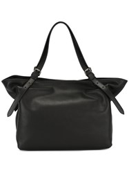 Tomas Maier Open Top Tote Black