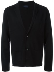Lanvin Knit Blazer Black