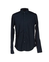 Gas Jeans Gas Shirts Dark Blue