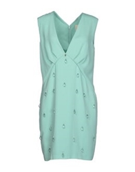 Betty Blue Short Dresses Light Green